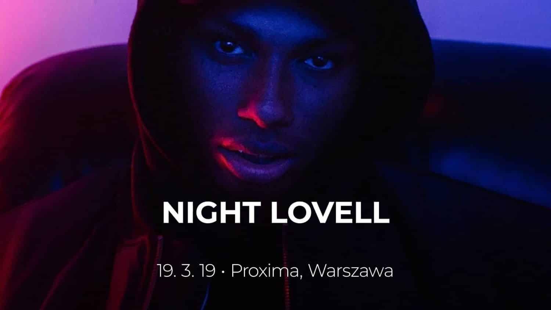 Night Lovell в Варшаве