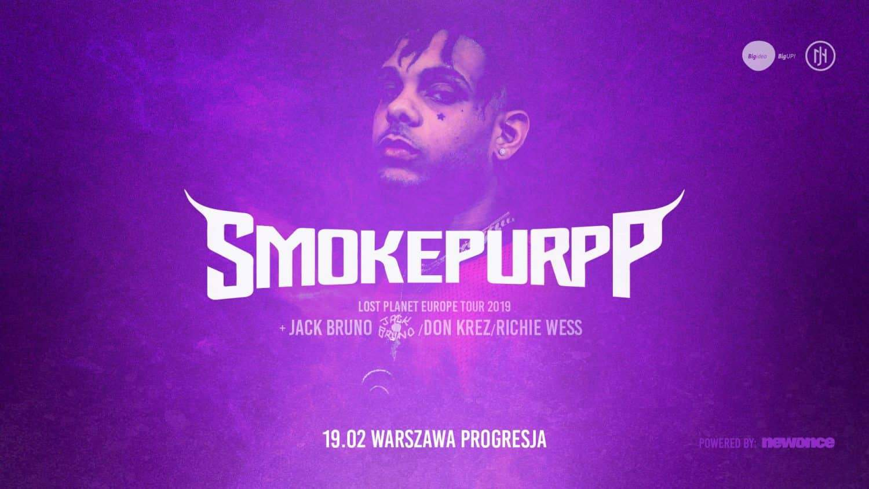 Smokepurpp в Варшаве