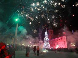 Новый год 2019 в Варшаве