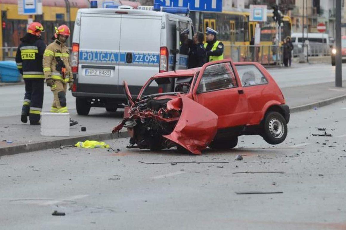Авария в Варшаве
