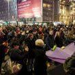 протест женщин варшава