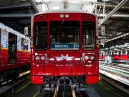 метро варшава новые вагоны