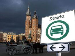 зоны чистого транспорта варшава