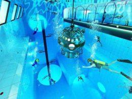 самый глубокий бассейн в европе польша