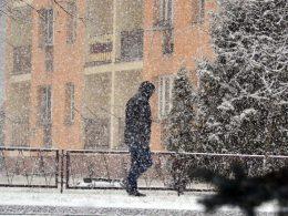 Зима возвращается в Варшаву