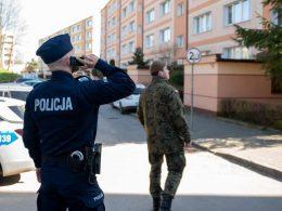 В Варшаве задержали 52-летнюю женщину, нарушившую карантин