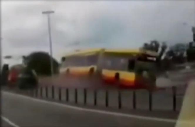 Водитель автобуса, который упал с моста был под воздействием наркотиков
