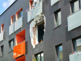 Взрыв в жилом доме в Варшаве