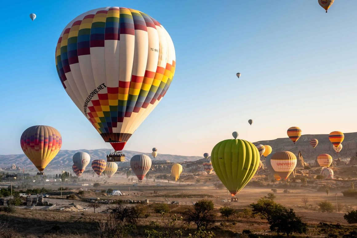 воздушные шары в варшаве