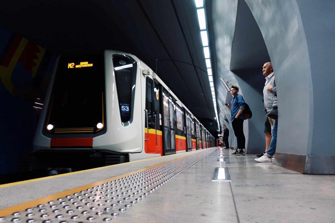 новое метро варшава
