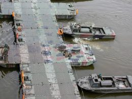 Временный мост для сточных вод Варшавы построят к четвергу