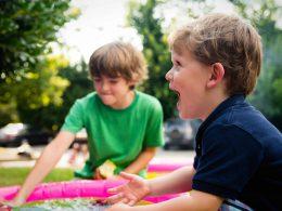 Необычный сад для детей и развития их органов чувств