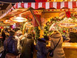 ярмарки варшава рождество