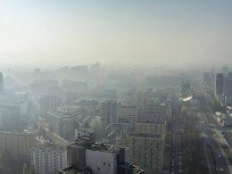 Варшава находится на 6-ом месте в списке городов с самым грязным воздухом