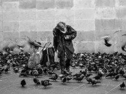 бездомный без лица