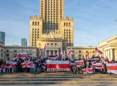 В Варшаве появится мурал в знак солидарности с Беларусью – ты можешь стать его автором