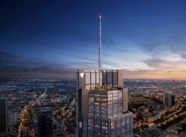 PKiN больше не самое высокое здание в Варшаве – Varso Tower достиг 310 метров