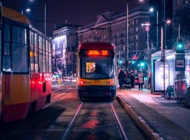 общественный транспорт варшава