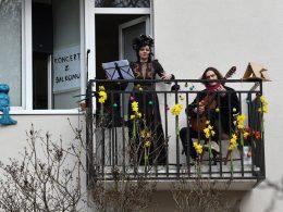 В воскресенье, 18 апреля, на варшавском Повисле пройдёт необычный концерт... на балконе. Барбара Качиньска исполнит оперную арию.
