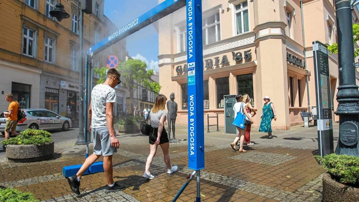 В Варшаве установят водные завесы для борьбы с жарой