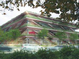 В Варшаве появится новый корпус SGH с зеленью внутри и снаружи