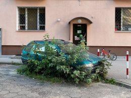 Брошенный автомобиль не хотели убирать 7 лет, пока об этом не написали в твиттере